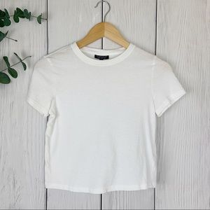 TOPSHOP Cropped Tee